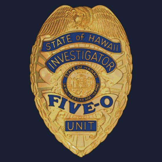 Hawaii 5-0 Badge (Small)