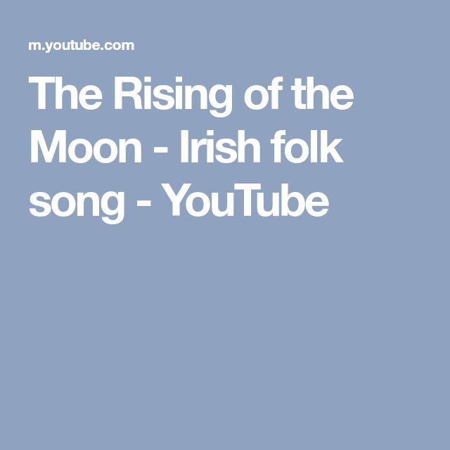 The Rising of the Moon - Irish folk song - YouTube