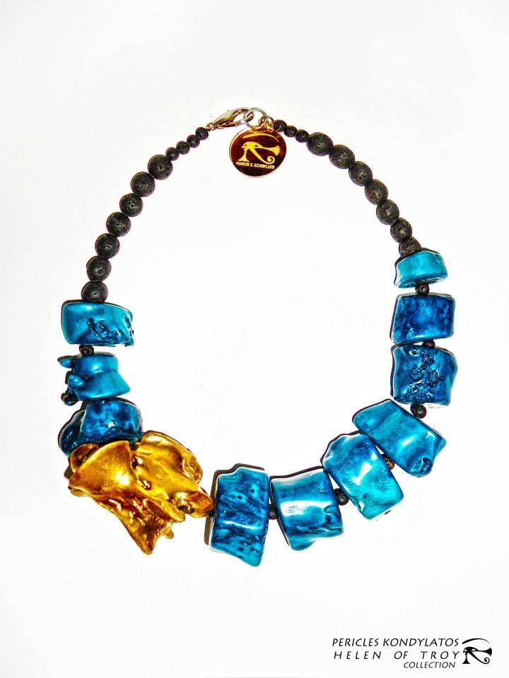 """Helen of Troy"" collection By Pericles Kondylatos  Jewellery Available: Vassilis Zoulias Boutique: 4 Akadimias str. Kolonaki - Athens (210 3389924)"
