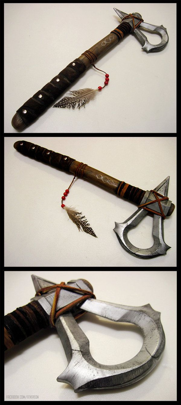 <3 <3 <3 FEV!!!!  Assassins Creed III- Connor's tomahawk take 2! by =fevereon