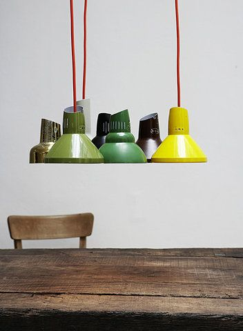 Via A Mad Tea Party with Alis | Repurposing Vintage Desk Lights