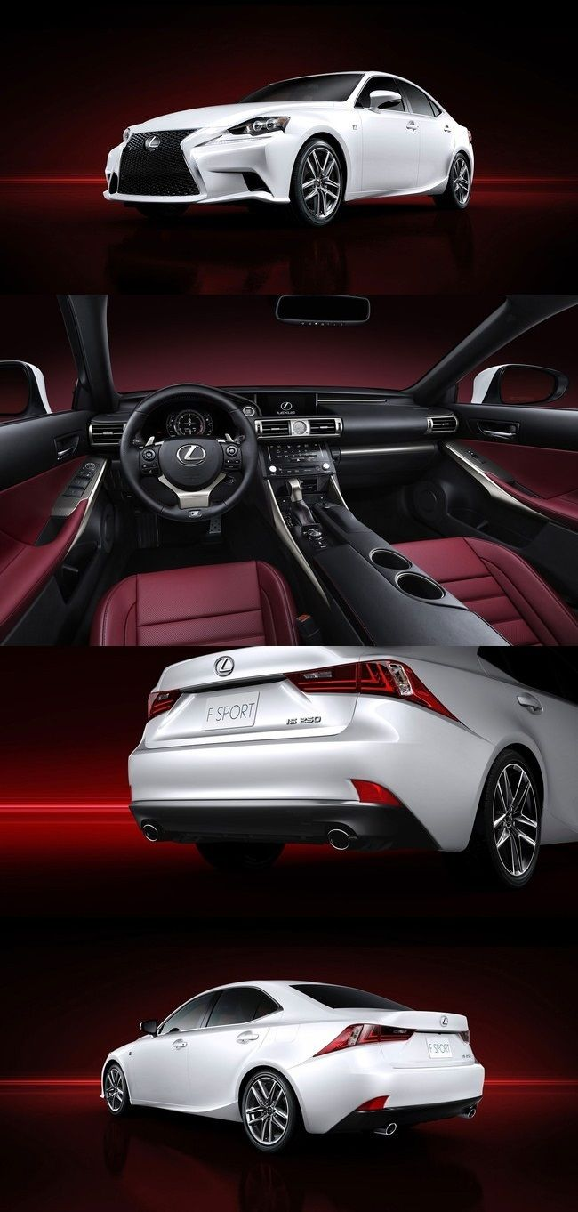 Lexus IS 250 F Sport. Red interior and white exterior is just BOSS! I would ship this enclosed for sure.