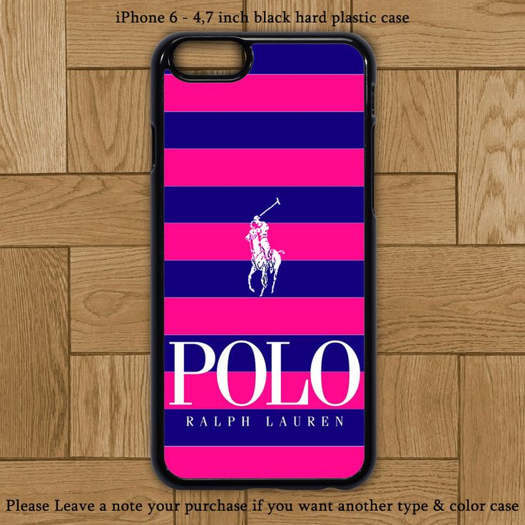 Blue Pink Polo Ralph Lauren Cover iPhone 6 Case Hard Plastic Cases