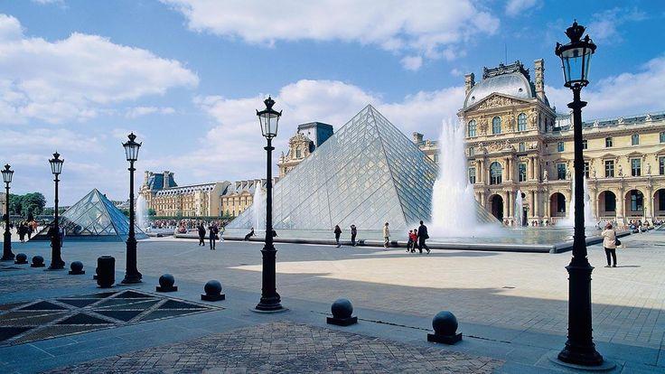 Der Louvre birgt unzählige Schätze aus vielen Jahrunderten. Endecke Sie auf deiner Sprachreise nach Paris. #Louvre #Paris #Sprachreise #Schätze #Frankreich #französisch #Sprachkurs