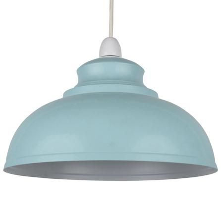 KITCHEN:  Galley Metal Pendant | Duck Egg (Blue) - Dunelm £12.99