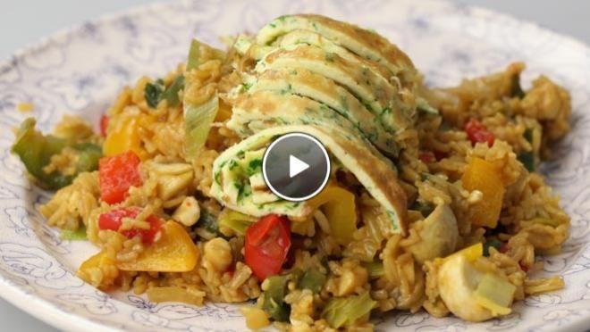 Kleurige nasi - De Makkelijke Maaltijd | 24Kitchen