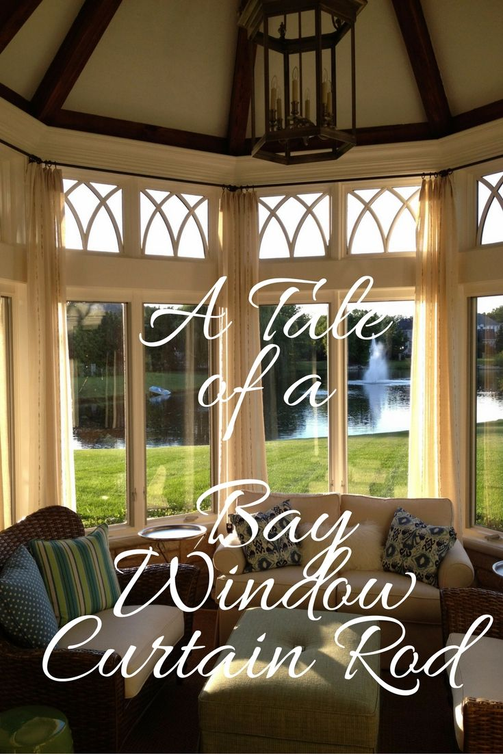 104 best arched window curtains images on pinterest arched my blog post about bay window curtain rod and more
