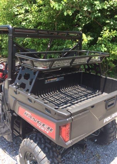 Polaris Ranger 900/570 Full Size Rear Cargo Rack - UTV Gear