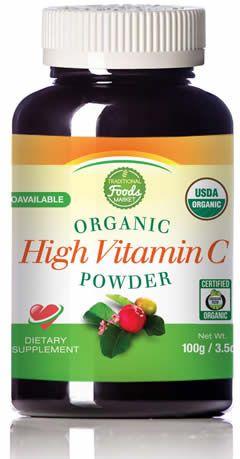 Herbal Vitamin C Bottle Image