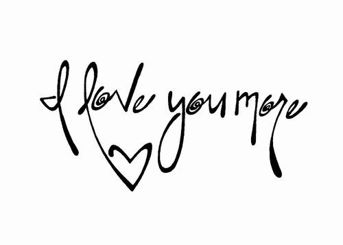 I Love You More Tattoos: Best 25+ Love You More Tattoo Ideas On Pinterest