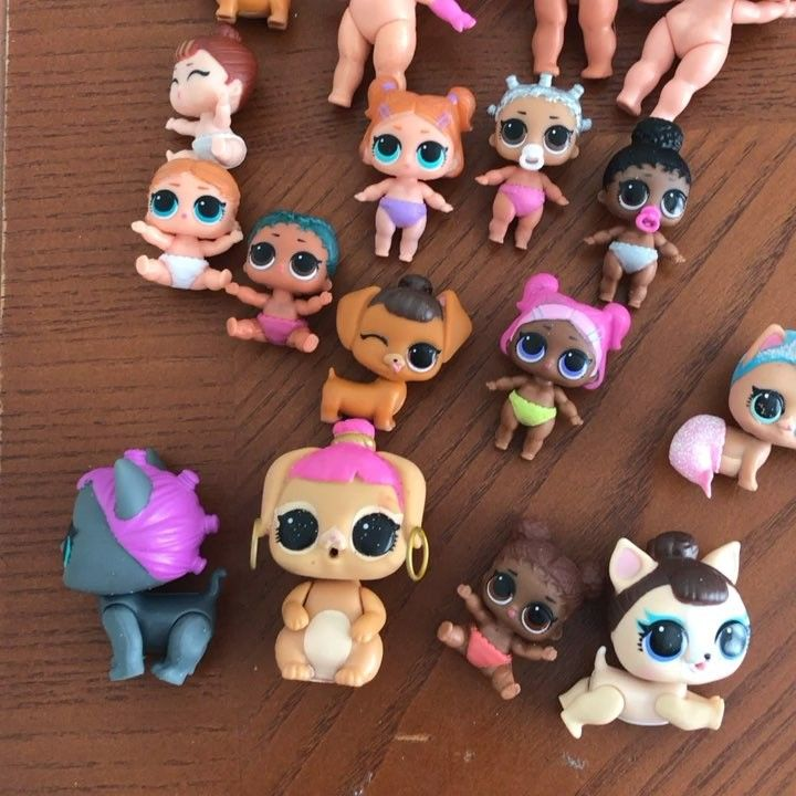 Wtt Dolls Come With Clothes And All Accessories Loldolls Lolsurprise Collectlol Juguetes Moños Abecedario