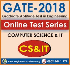 Engineers Academy offers best online test series for GATE 2018 Exam computer science engineering with free GATE online mock test. #online gate test series