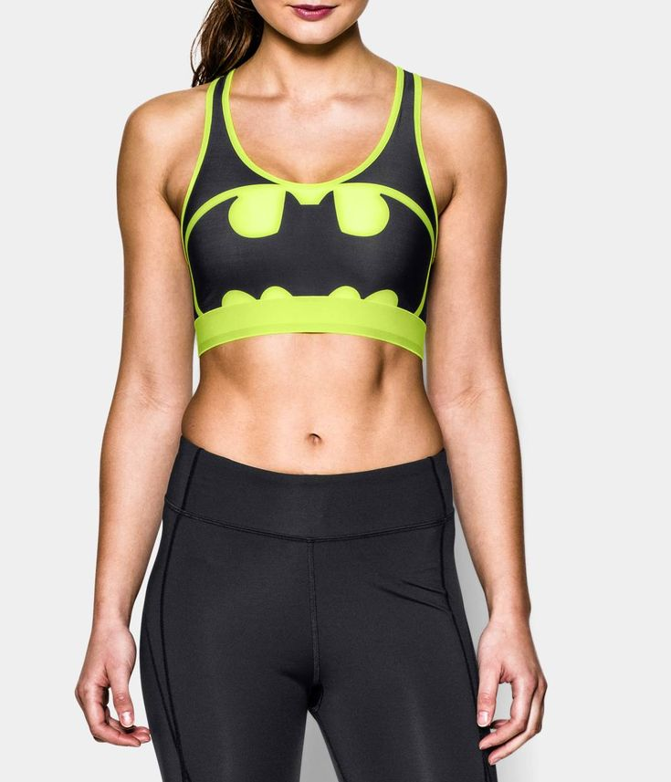 Women's Under Armour® Alter Ego HeatGear® Armour Batgirl Sports Bra | Under Armour US
