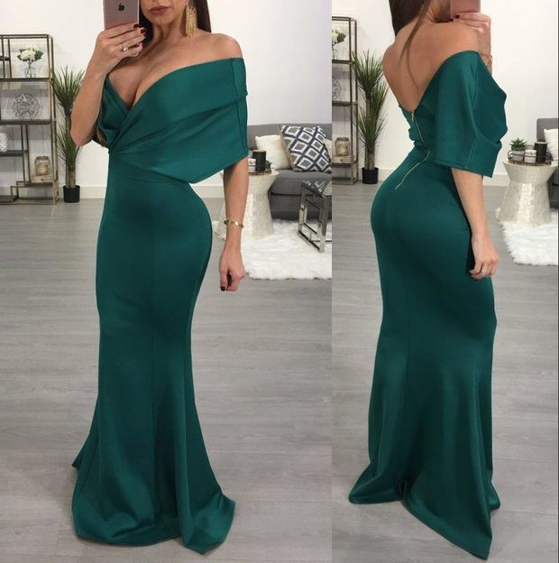Shop for the Big V Neck Backless Sexy Green Long Gown online now. Wholesale7.net offer the latest fashion Big V Neck Backless Sexy Green Long Gown with cheap price and top quality