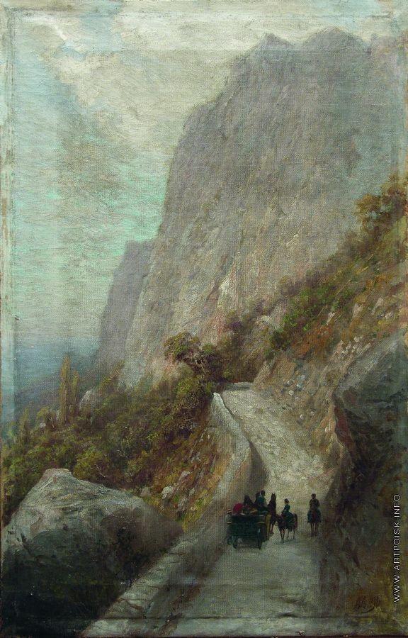 Lev Lagorio - Mountain Landscape (1889)