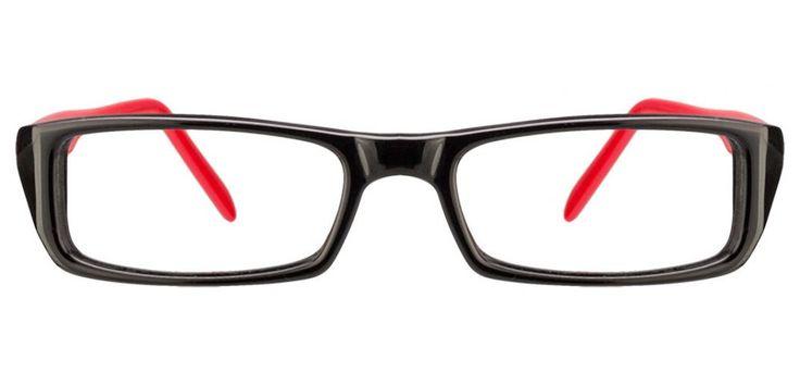 Vincent Chase Vagabond VC 6424 Black Red 1030 Eyeglasses