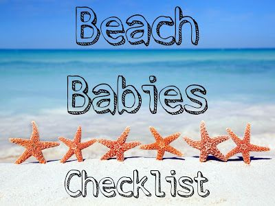 I am SO excited to be working on some tips we learned last year when taking babies to the beach for the first time. Don't forget to checkout our 10 tips to bringing baby to the beach post here! Bea...