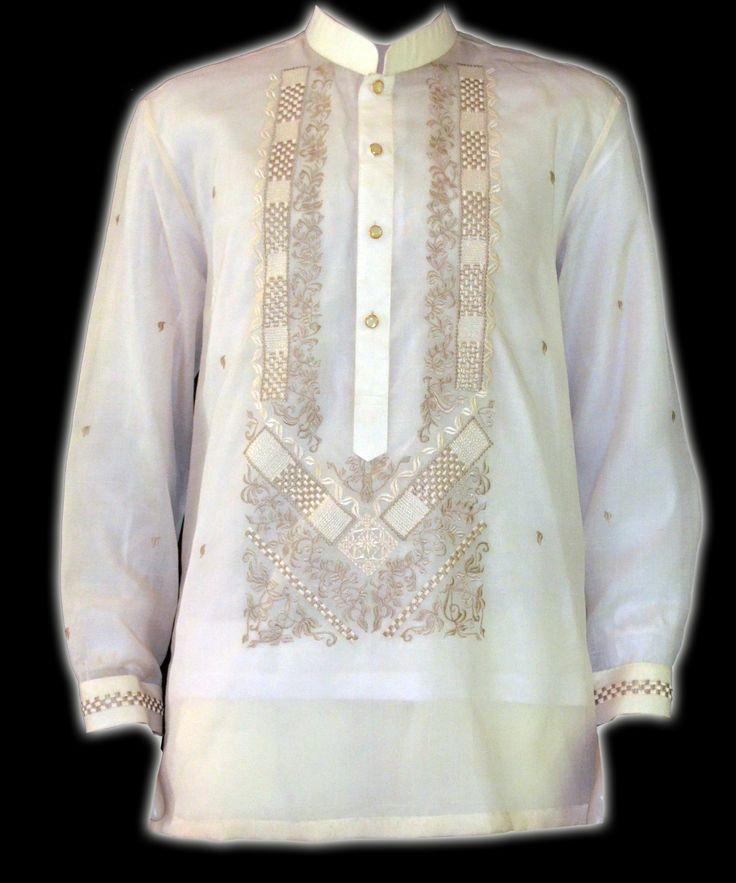 91 best barong tagalog images on pinterest barong for Barong tagalog wedding dress