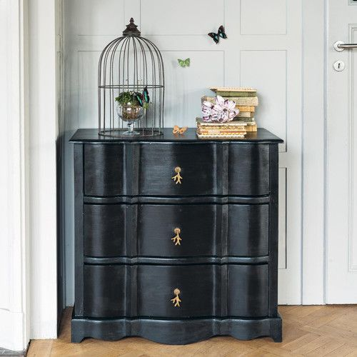 1000 id es sur le th me commodes noires sur pinterest commodes transformation de la commode. Black Bedroom Furniture Sets. Home Design Ideas
