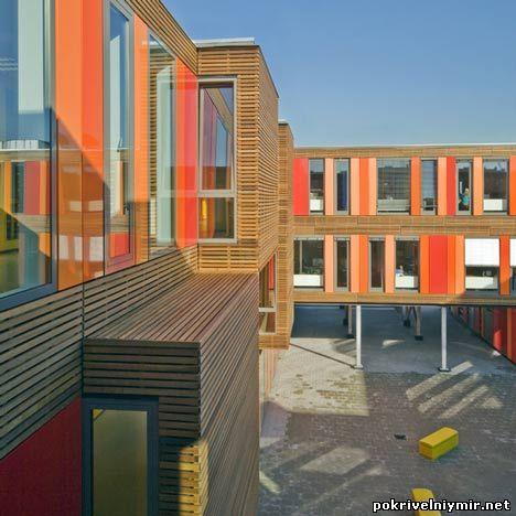 Интерьер частной школы в Голландии 2