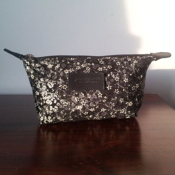 Cosmetic Bag - Makeup bag, travel pouch, leather travel bag
