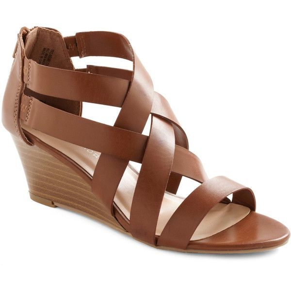 Strappy Together Wedge found on PolyvoreLow Wedges, Shoes, Fashion, Wedges Modcloth Com, Style, Clothing, Wedges 49 99, Sandals, Modcloth Strappy