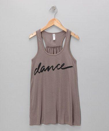 Dark Gray Dance Tank