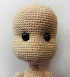 Amigurumi Bebek Yapılışı 19