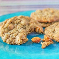 ... with whole grains, flax, coconut, and tons of salty + sweet flavor