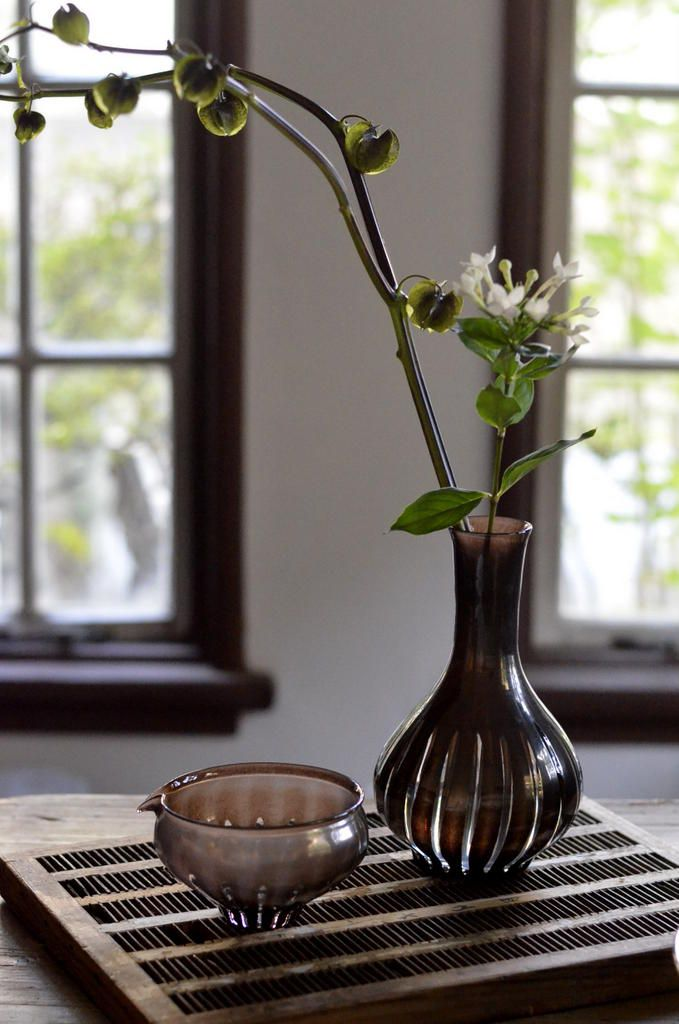 ren Vase - Hiroy Glass Studio ヒロイグラススタジオ「 門下生展 」 花岡央 : うつわノート