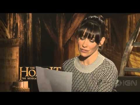 The stars of The Hobbit read The Ballad of Bilbo Baggins--- Benedict Cumberbatch, I am unable to even....