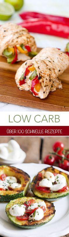 Meine besten kohlenhydratarmen Rezepte – Kochen Sie gesund und schnell ohne Kohlenhydrate. Au …   – Low Carb Essen