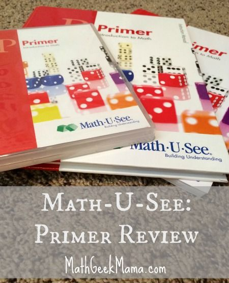 "A review of Math-U-See Homeschool math curriculum, ""Primer"" level from a mom and math teacher."