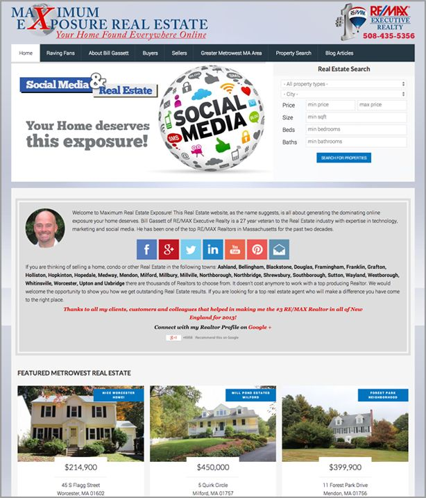 The Best Real Estate Website Designs For 2014 From top Realtors and #RealEstate Companies: https://placester.com/real-estate-marketing-academy/real-estate-website-sign-24-best-examples/