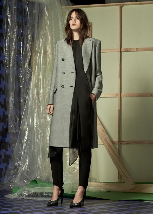 5b74d32e62de The Hayworth Coat and Melanie Heel by CAMILLA AND MARC