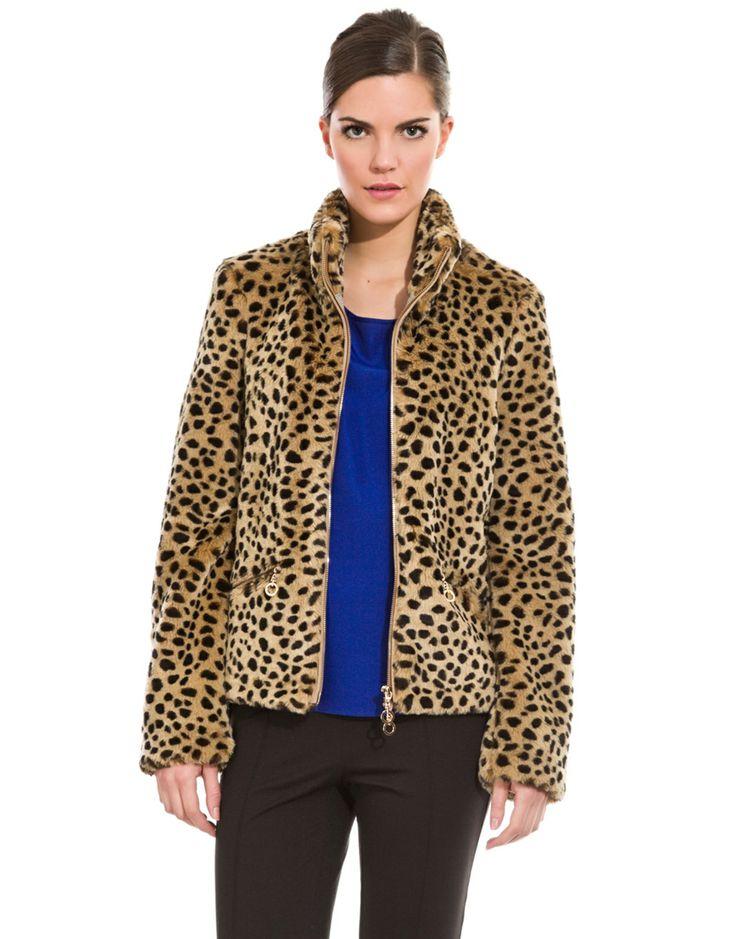 VIVE TU MODA: Cazadora de leopardo