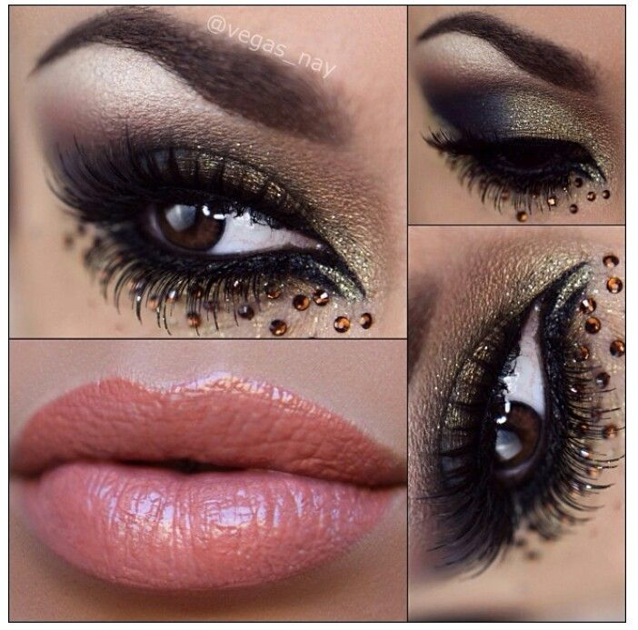 Party/ New Year's Eve makeup