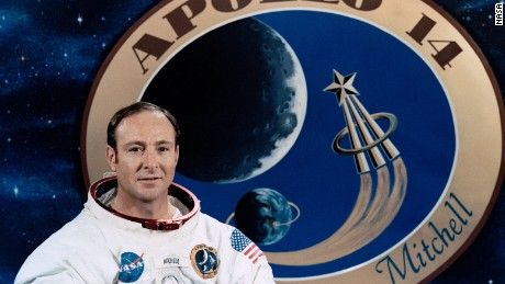 Edgar Mitchell, one of just 12 human beings who walked on the moon. He said he had conducted ESP experiments on the mission. He was also a believer in extraterrestrial activity, and was convinced UFOs had visited Earth.