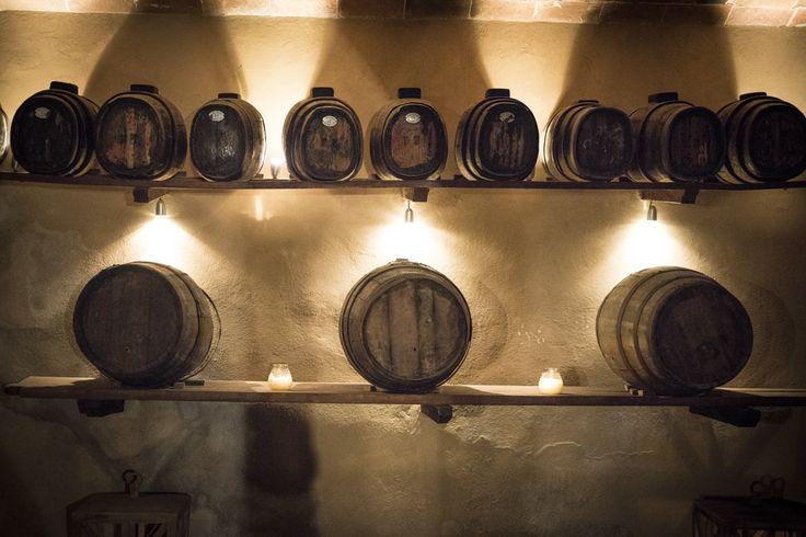 Aperitif in a wonderful cellar Florence