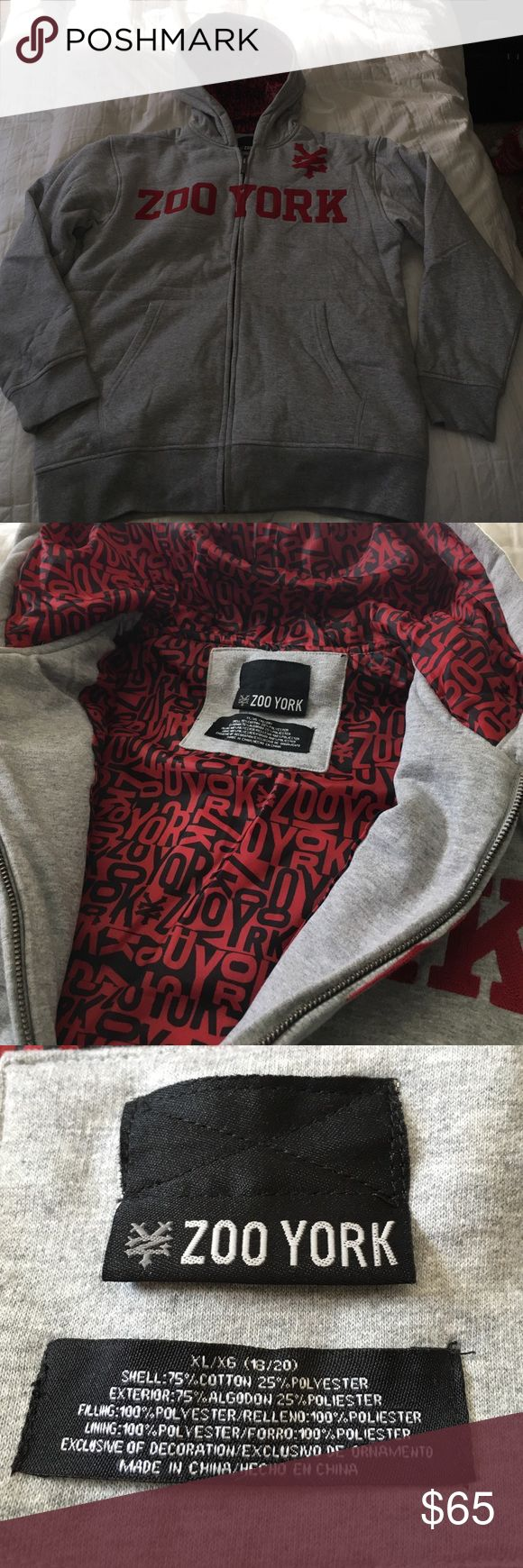 Zoo York hoodie Brand new without tags - never worn. Lined and EXTREMELY comfy Zoo York Shirts Sweatshirts & Hoodies