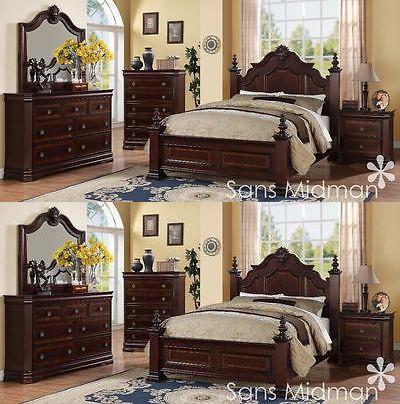 Best Cherry Wood Bedroom Ideas On Pinterest Black Sleigh