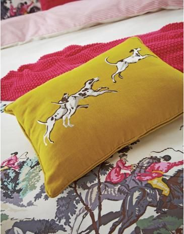 Joules Heritage Cushion