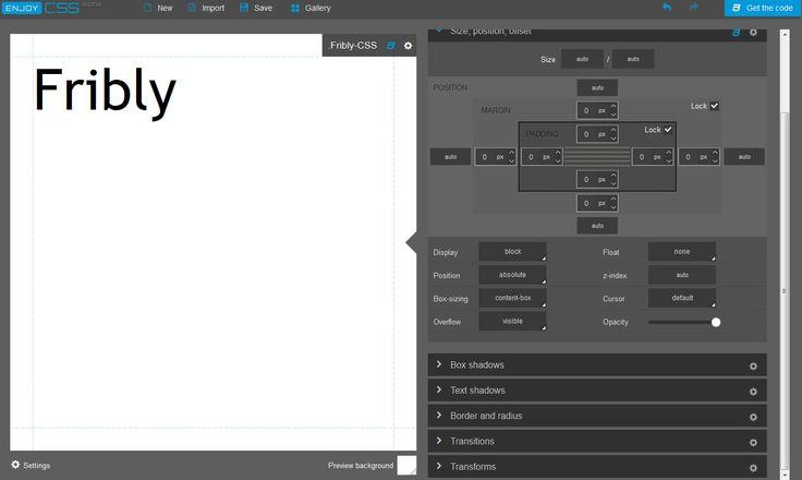 EnjoyCSS: Online CSS3 Code Generator, #3D, #Code, #CSS, #CSS3, #Free, #Generator, #Tools, #Transition, #Web #Design, #Development