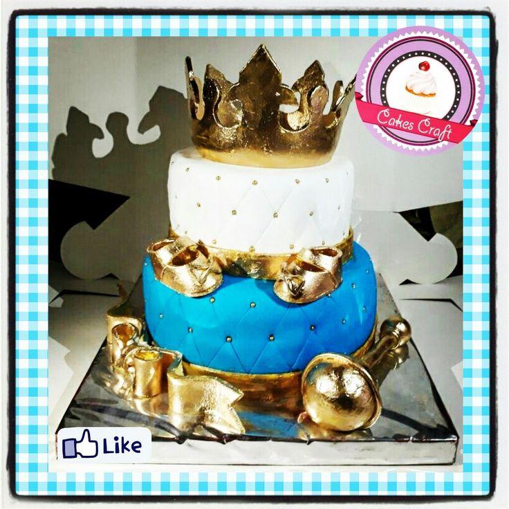 Baby Shower Prince Cake - Principe!/ CID - 576 #tortatematica #barranquilla #cakestagram #uniautonoma #uniatlantico #uninorte #unilibre #unimetro  #hbd #cumpleaños #CakescraftKeados #cakeboss #cupcakewar #cakescraftbq #airsoft #halamadrid #jamesrodriguez10 #collagecostacaribe #enchufetv #aotronivel #canalcaracol #barranquillaestuciudad #avianca #friday #mundialrusia2018 #babyshower #baby #principe #vamoscolombia #shower