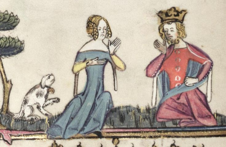 Bodleian Library MS. Bodl. 264, The Romance of Alexander in French verse, 1338-44; 121v