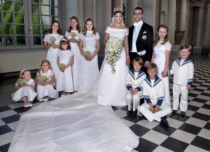 Wedding of Crown Princess Victoria and Prince Daniel of Sweden. I can still gush over this one (June 2010)