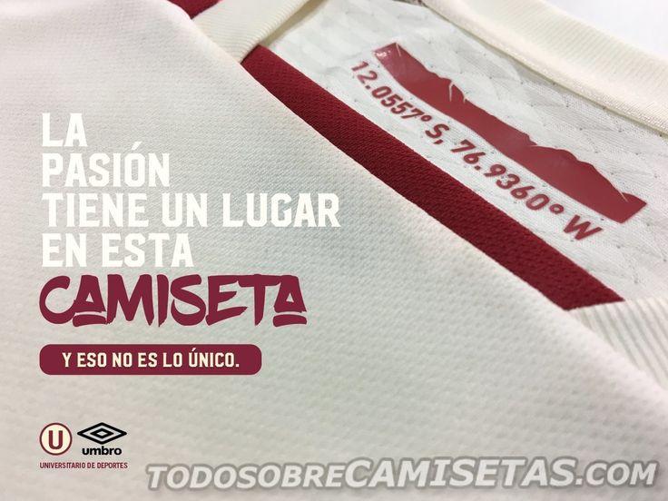 Camisetas Umbro de Universitario de Deportes 2017