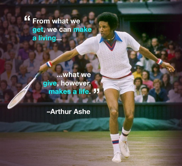 Arthur Ashe Quotes: 25+ Best Ideas About Arthur Ashe On Pinterest