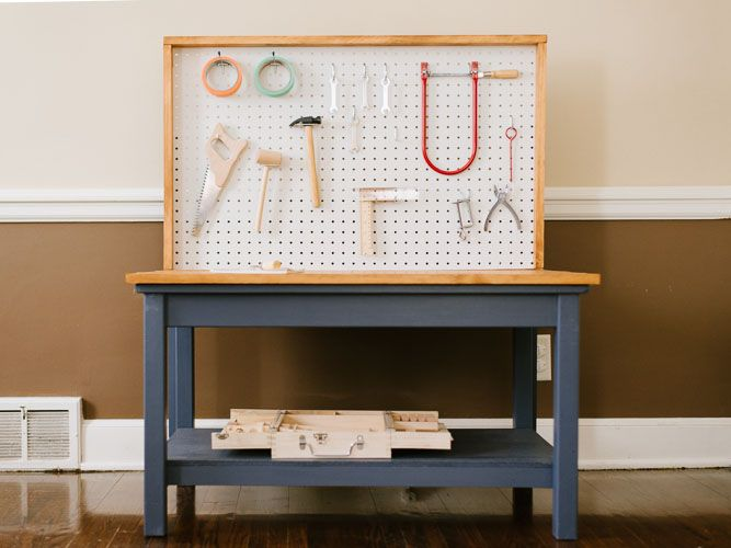 diy child's tool bench