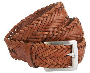 Original Gift Company Braided Leather Belt, Brown, Size X Large, Leather Hand-braided, full grain leather belt fastens at any point and comes in Brown or Black with a silver-tone buckle. (Barcode EAN=5053335615239) http://www.MightGet.com/february-2017-2/original-gift-company-braided-leather-belt-brown-size-x-large-leather.asp